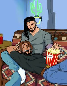 Overwatch - Hanzo and Mccre Overwatch Hanzo, Overwatch Comic, Overwatch Memes, Overwatch Fan Art, Fanart Overwatch, Game Character, Character Design, Hanzo Shimada, Art Of Love