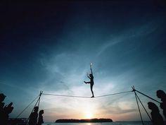 Tight rope walker