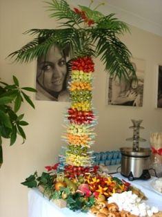 Fruit Palm Kit for Chocolate Fountain Luau