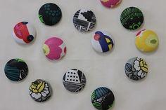 デコパージュくるみボタンの作り方。 まつこの日常~北欧好きのハンドメイドとコドモノコト~