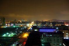 night view bao'an Shenzhen China