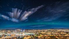 Northern LIghts over Oslo, Norway | por Gunnar Kopperud
