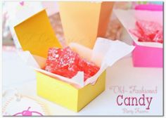 Easy Candy Recipe ~ Old Fashioned Party Favors | Kleinworth & Co