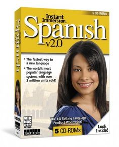 Topics Entertainment's Total Immersion 5 CD-ROM Spanish learning software is designed to strengthen your fluency by emulating everyday situations you may experience while in a foreign country, the Instant Immersion Advanced Spanish course fully prepares you for interaction among native Spanish speakers.