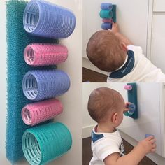 ROLLER VELCRO • This is the easiest and simplest introduction to velcro and a wonderful work out for little fingers as well. It turns out…
