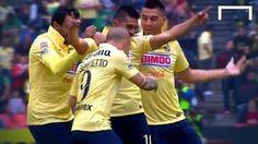 Piłkarz Club America strzelił pięknego gola z połowy boiska • Osvaldo Martinez wspaniale przelobował bramkarza • Wejdź i zobacz >>