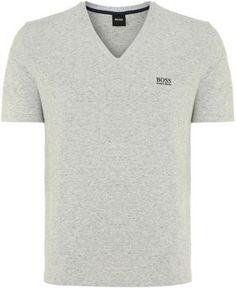 6d790d02f Hugo Boss Men s Long sleeve v neck logo t shirt Hugo Boss Man