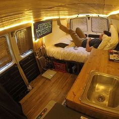 """9,756 Likes, 438 Comments - Vanlife Diaries (@vanlifediaries) on Instagram: """"Just chill out and watch some Star Wars but do it wherever you want. It is totally possible as…"""""""