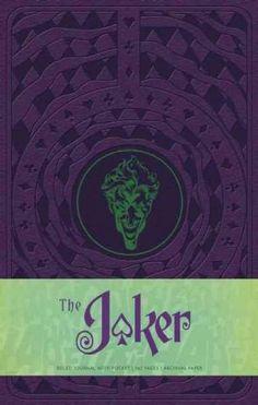 The Joker Hardcover Ruled Journal