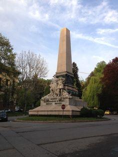 Ricordo della Spedizione di Crimea - Via Fiume, Torino