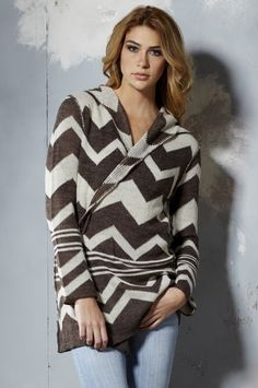 Hoodie #Sweater with Pins Aztec-Sand - On #Sale