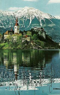 Lake Bled, Slovenia  National Geographic | May 1970