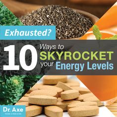 Exhausted? 10 Ways to Boost Energy Levels
