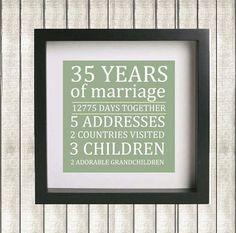 Printable Parent's Wedding Anniversary by amandadillarddesigns, $8.50