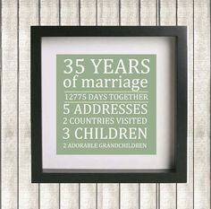 Gift Ideas For Parents 35th Wedding Anniversary : Eighth Anniversary Gift for 8th Wedding Anniversary Bronze Gift for ...