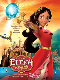 Disney?s First Latina Princess Series Elena of Avalor Premiere Date Revealed