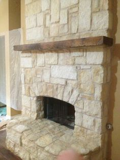 Stone Indoor Fireplaces austin stone fireplace | full austin stone fireplace with raised