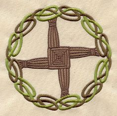 Brigid's Cross   Urban Threads: Unique and Awesome Embroidery Designs