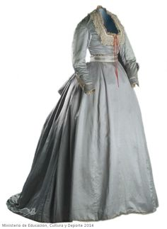 Dress, 1865-70, Museo del Traje.