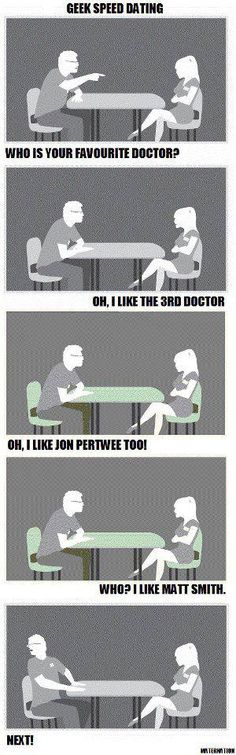 Geek Speed Dating (Doctor Who)