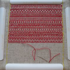 embroidery sampler. I like how you can hover over a stitch and it will tell you what type of stitch it is. Kind of like an embroidery encyclopedia.