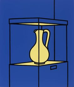 Patrick Caulfield 'Vase on Display', 1970–1 © The estate of Patrick Caulfield. All Rights Reserved, DACS 2014