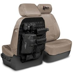 • King's Arsenal Tactical Seat Covers by Coverking