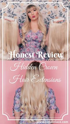 Hidden Crown Hair Extensions, Halo Extensions, Curled Hairstyles, Easy Hairstyles, High Ponytails, Lace Outfit, Light Blonde, Different Hairstyles, Diy Skin Care