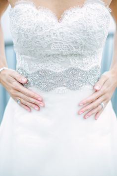 This gown is beautiful: http://www.stylemepretty.com/new-jersey-weddings/rumson/2015/04/24/nautical-chic-summer-wedding-at-rumson-country-club/ | Photography: Love & Light - http://loveandlightphotographs.com/