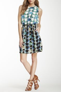 Belted+Printed+Silk+Dress+by+M+Missoni+on+@HauteLook