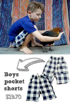 Cool and trendy! cotton fabric check short for boys. Easy pull-on elastic waist with two deep pockets for all of their 'stuff' they pick up on their adventures. Shop boy's coastal styles > Online or visit us in Noosa! Kid N Play, Shorts With Pockets, Coastal Style, Kids Clothing, Elastic Waist, Cotton Fabric, Kids Outfits, Deep, Cool Stuff