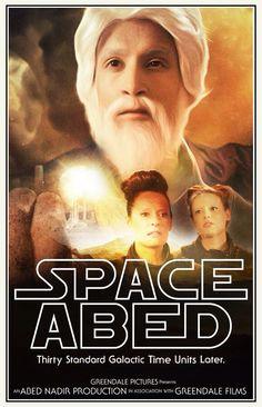 Space Abed. Abed Nadir. #Community #SaveGreendale #AndAMovie #SixSeasonsAndAMovie