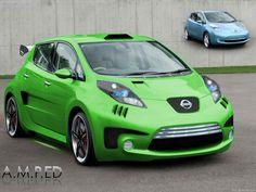 Nissan Leaf Modified
