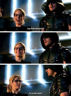 #Arrow - Felicity & Oliver #Olicity #4x17
