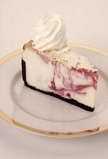 White Chocolate Raspberry Truffle Cheesecake - Cheesecake Factory Copycat Recipe