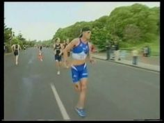 One of my favorites... Awesome Triathlon Sprint Finish