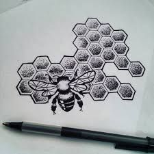 Image result for honeycomb tattoo