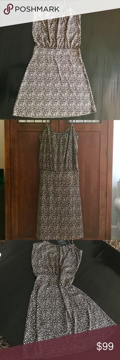 🌻 Liz Claiborne dress. NWT Liz Claiborne long dress. Color: blank and ivory. NEW WITH TAGS.  Same/next day shipping. All items come from a smoke & pet free home.  The pictures were taken to the best of my abilities. Due to lighting, colors may vary from the actual item.  If you are in doubt, please ask. I'm happy to answer any questions & post more pics. Liz Claiborne Dresses Maxi