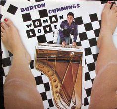Burton Cummings - Woman Love CANADA 1980 LP Vinyl
