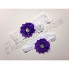 A personal favorite from my Etsy shop https://www.etsy.com/listing/122944121/purple-wedding-purple-bridal-garter