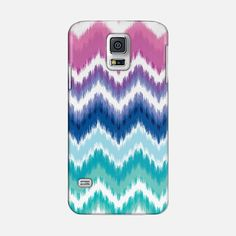 Ombre Ikat Chevron Galaxy S5 Case by Organic Saturation | Casetify. Make yours and get $5 off using code: 53ZPEA #ombre #ikat #chevron #geometric #pattern #galaxys5 #galaxys5case #casetify