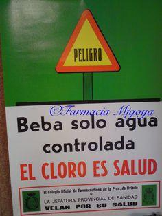 Campaña de control de aguas #botica #cartelesantiguos #anunciosantiguos #farmaciasconhistoria