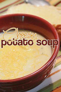 Cheesy Potato Soup. yums.