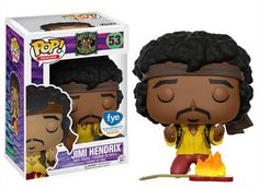Funko: Pop! Rocks-Exclusive Jimi Hendrix Funko Pop!