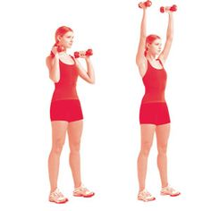 Shoulder Press 1 sec up 3 sec down