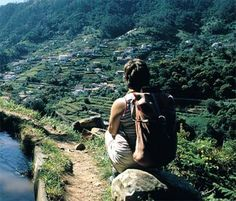 Madeira, Portugal: Garden of Eden   Levadas  - the island's network of narrow canals running from the mountains by Thomas Breathnach