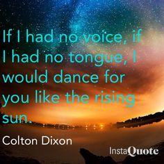 Colton Dixon #ChristianLyrics #ChristianMusicLyrics