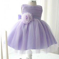 Flower Girl Dress Lavender Lilac Light Purple By