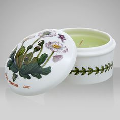 Buy Portmeirion Botanic Garden Votive from our Home Fragrances range at John Lewis & Partners. Free Delivery on orders over Votive Candles, Scented Candles, Portmeirion Pottery, Vases, William Ellis, Home Fragrances, Earthenware, Botanical Gardens, Beautiful Flowers