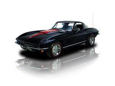1967 Black Chevy Corvette Sting Ray LT1 350 V8 4 Speed
